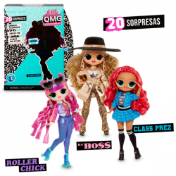 LOL SURPRISE OMG FASHION DOLLS SERIE 3