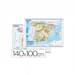 Mapa mural españa fisico
