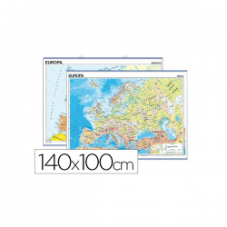 Mapa mural europa fisico