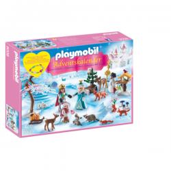 24 ventanas, 24 sorpresas. Incluye 3 figuras, muñeco de nieve y muchos animales del bosque.